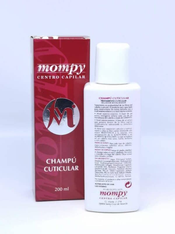 Mompy champu cuticular