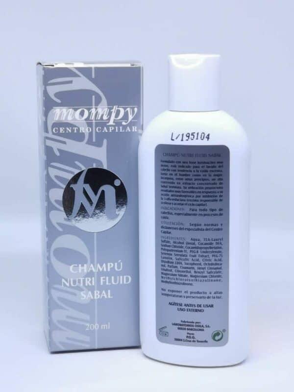 Mompy champu nutri fluid sabal